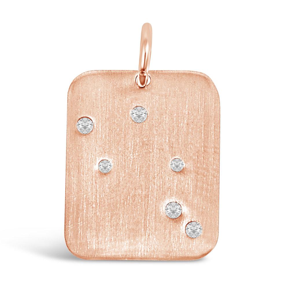 Rose Gold Libra Pendant