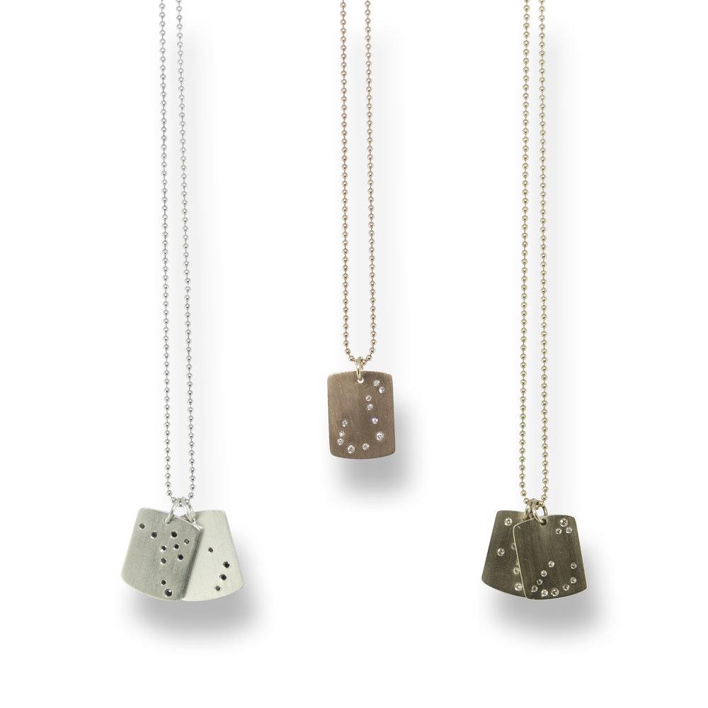 Diamond Zodiac Pendant