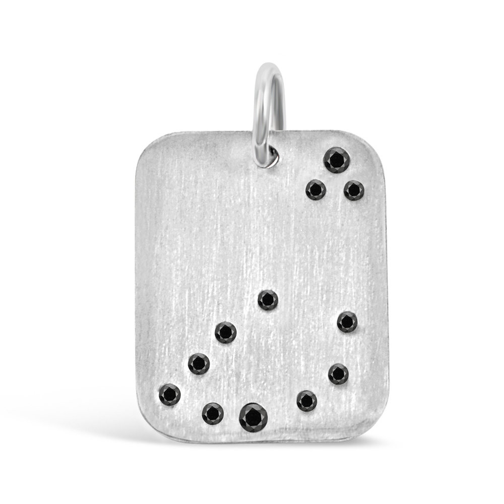 Sterling Silver Capricorn Pendant