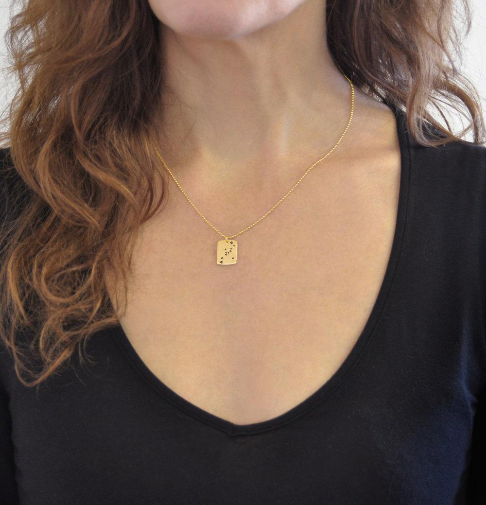 Diamond Zodiac Necklace