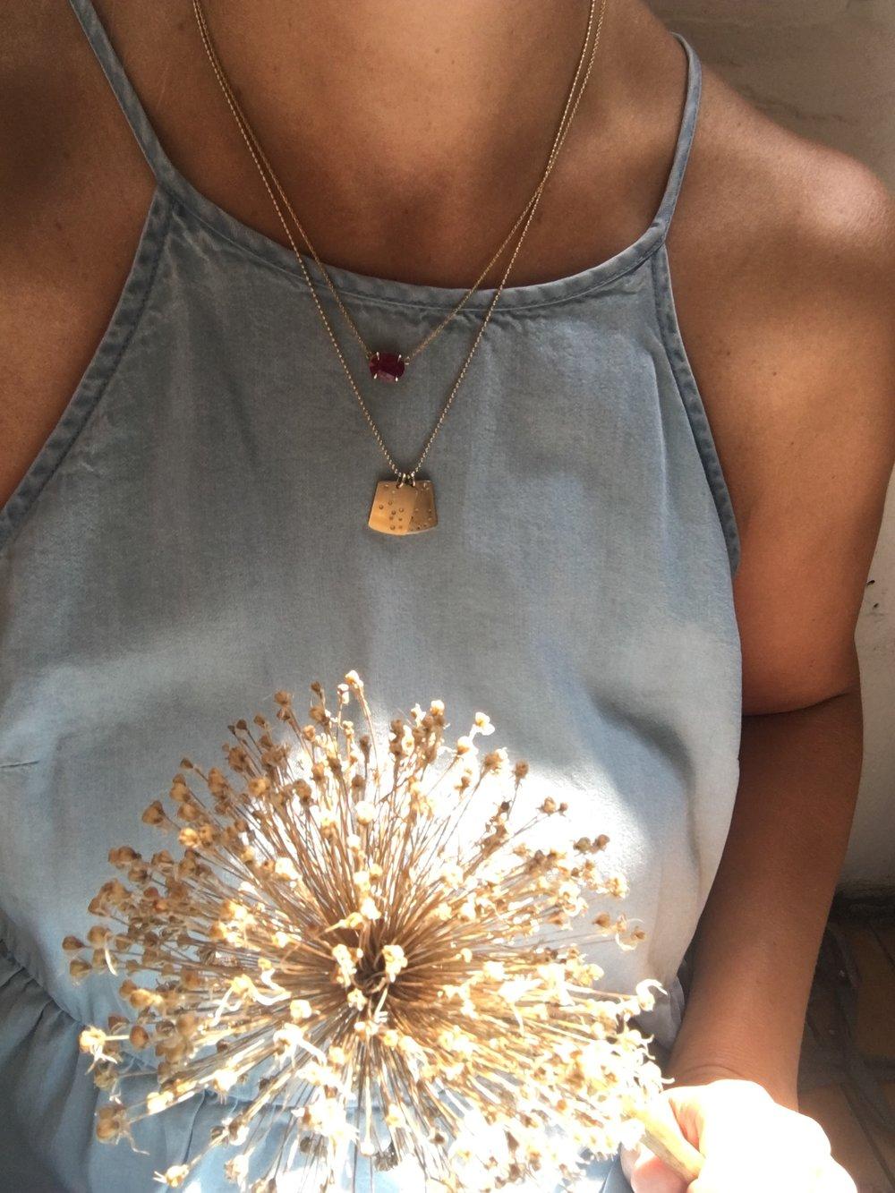 Diamond Constellation Necklace