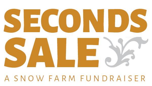 Seconds Sale Fundraiser Nov. 9-11, 16-18, 23-25