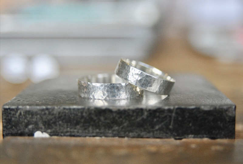Is your Valentine Artsy? Celebrate Valentines Day with your sweetheart making hand hammered sterling silver rings in our romantic DIY workshop complimentary Cheese plate and Champagne toast.