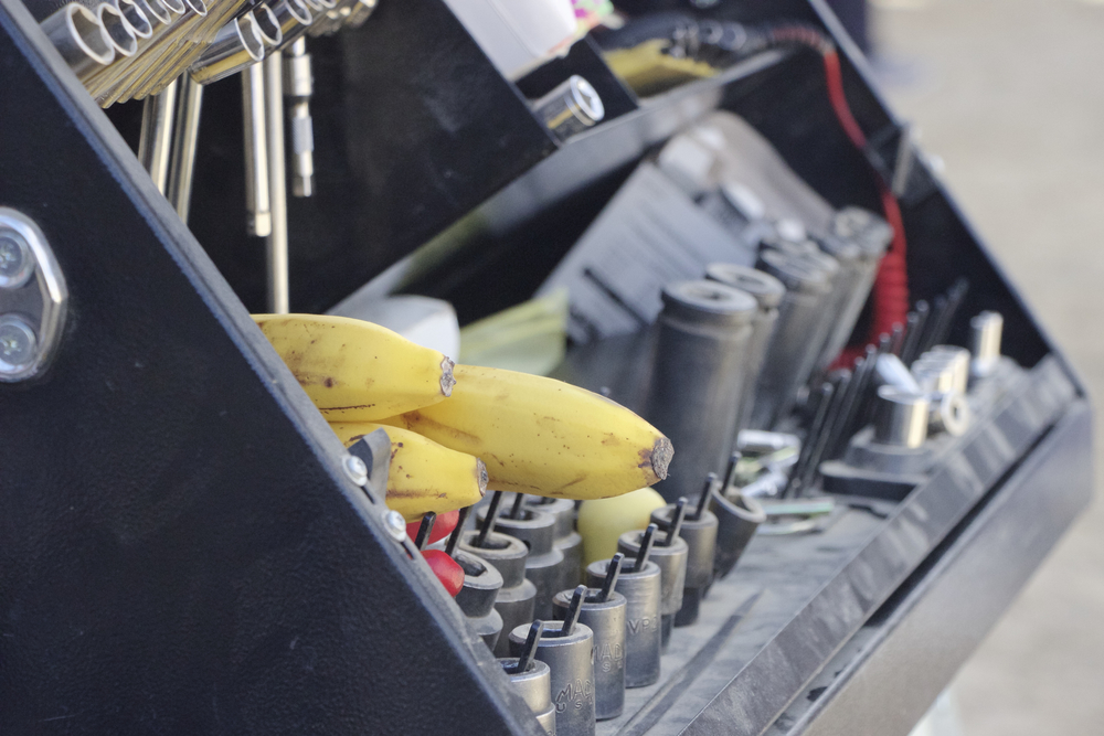 """Bananas in Toolbox"""