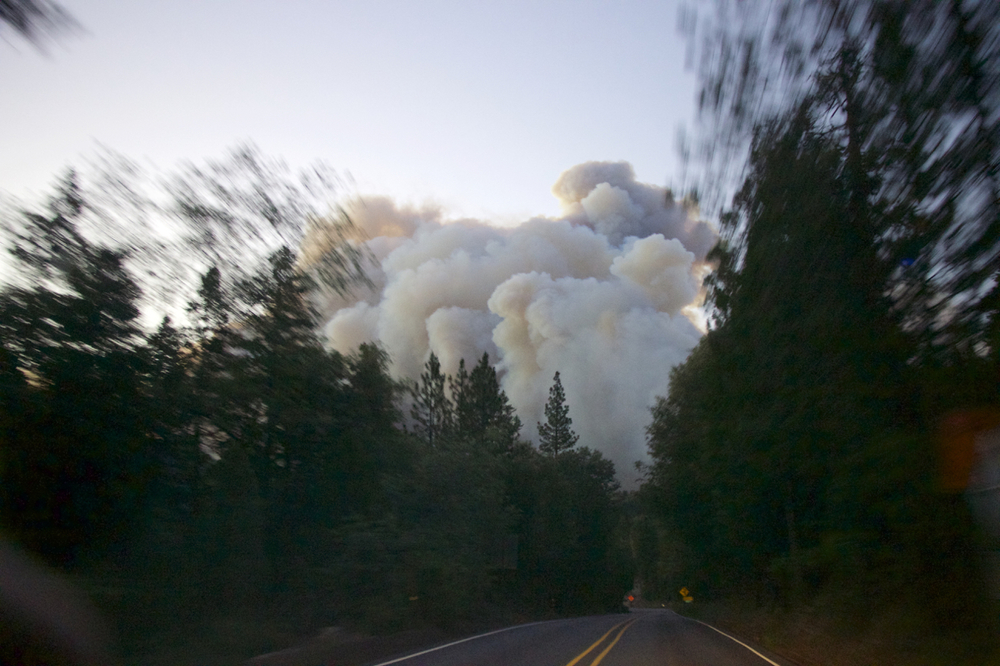 """Lake Fire: Smoke over the Highway"""