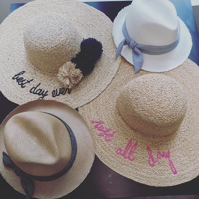 Sometimes a hat says it all #roseallday #bestdayever #beachlife #poolside #mimiandmonyc #hatattack #longislandcity #newarrivals