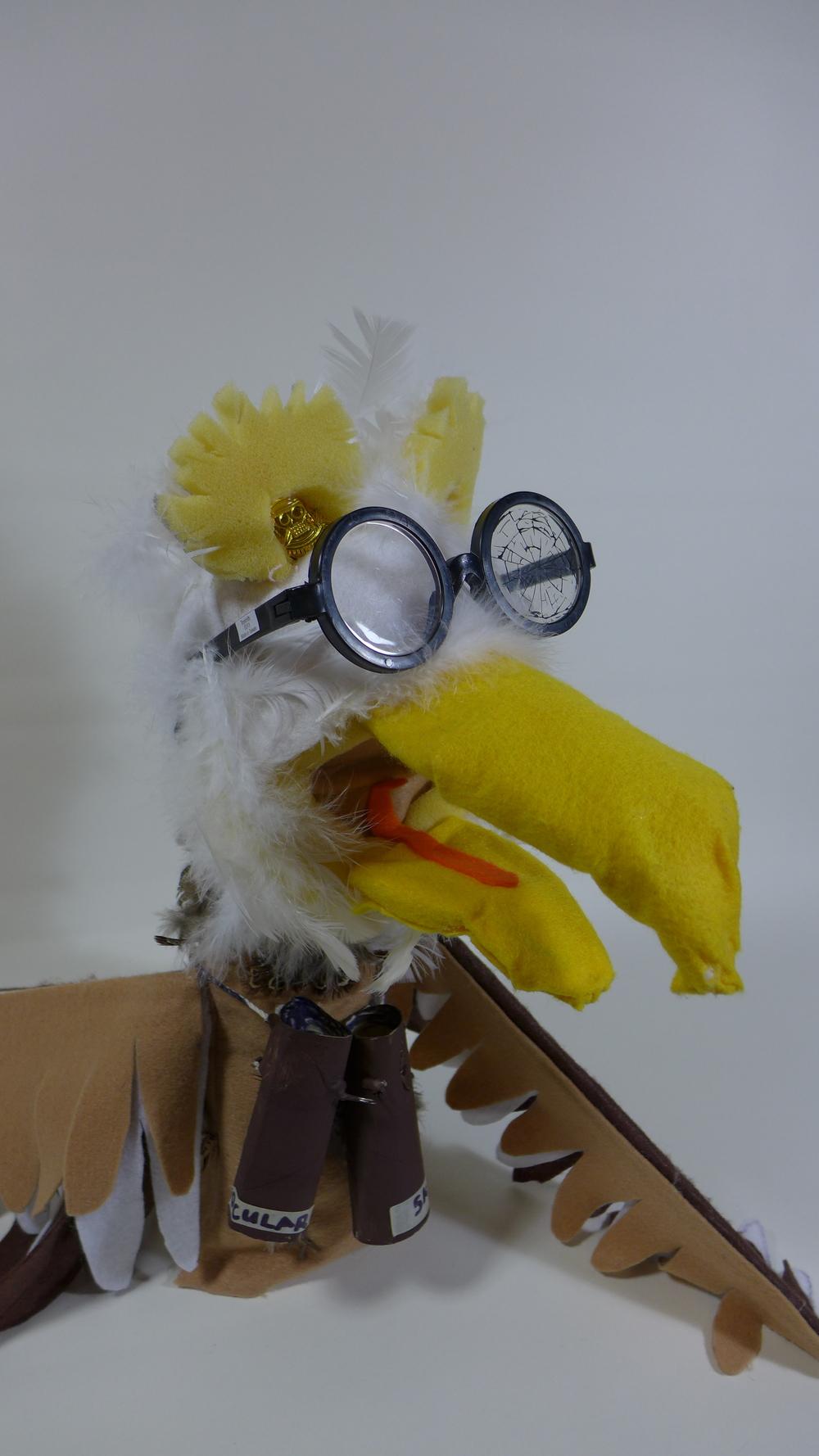 Elroy J. Eagleton (foam puppet)