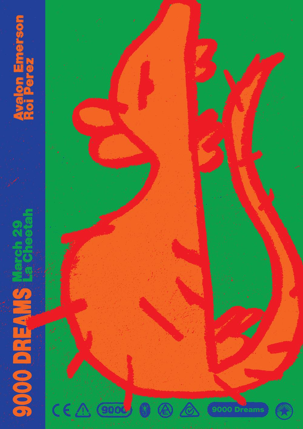 9000 Dreams at La Cheetah: A series of nights by  Avalon Emerson