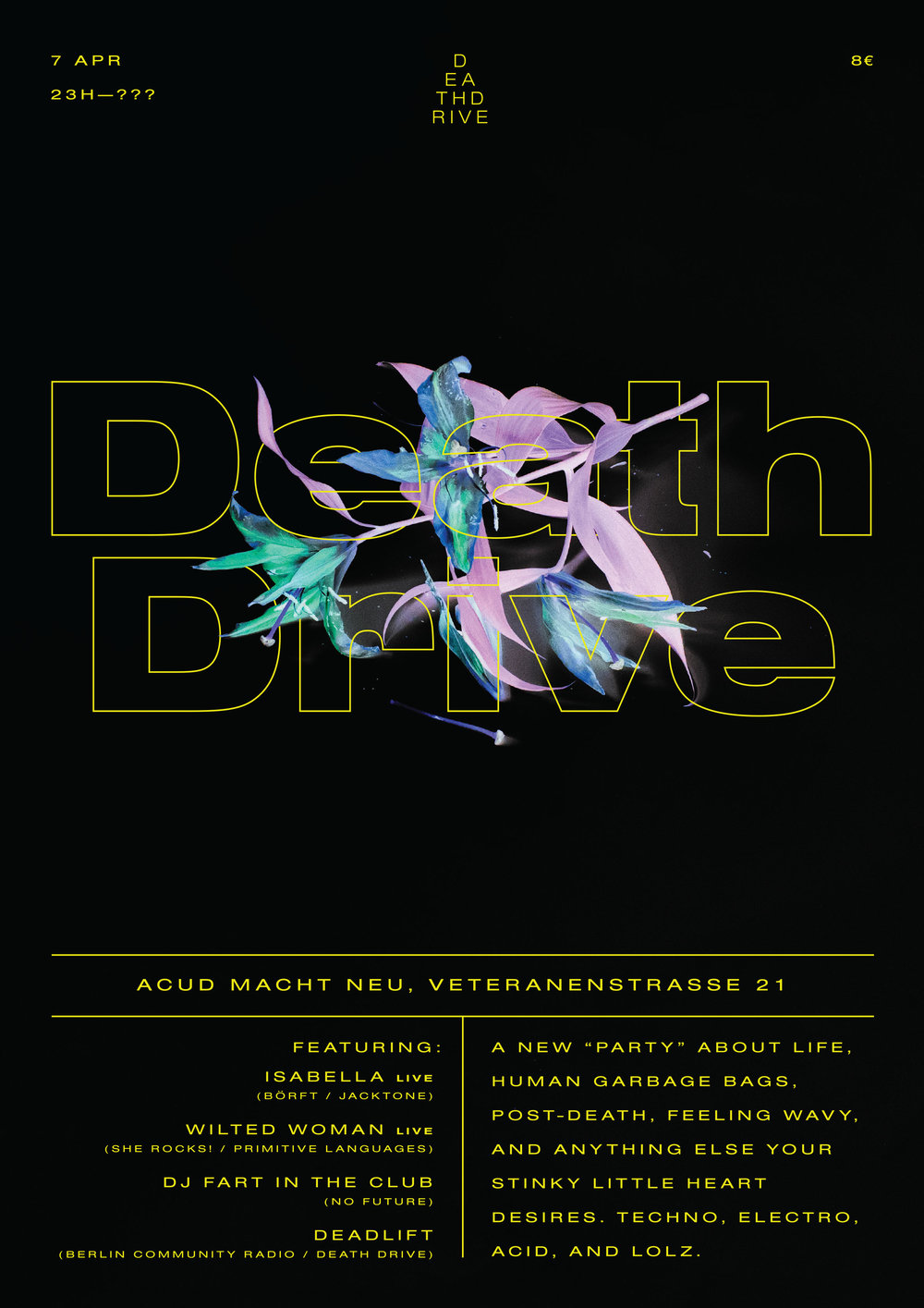 Death Drive: A party series by  Deadlift