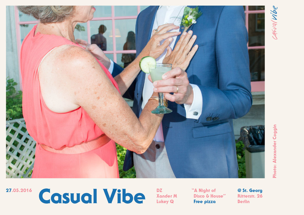 Casual Vibe: a disco and funk party series by  Brisa Wendt