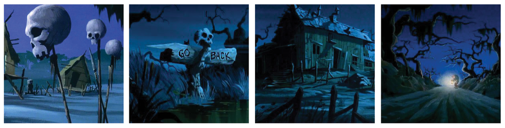 Inspiration: Scooby Doo matte paintings.