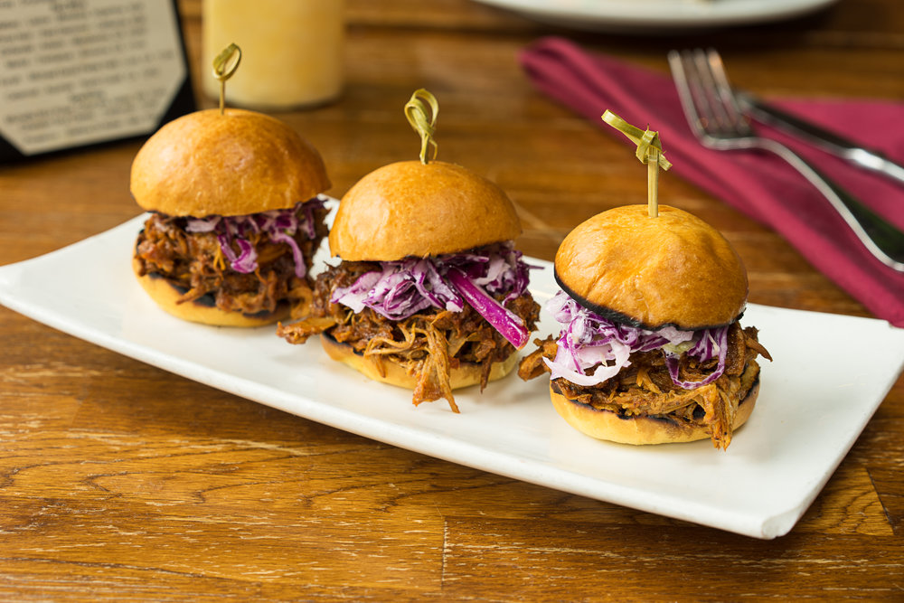Pulled Pork Sliders - Cater your next event in San Francisco with us!