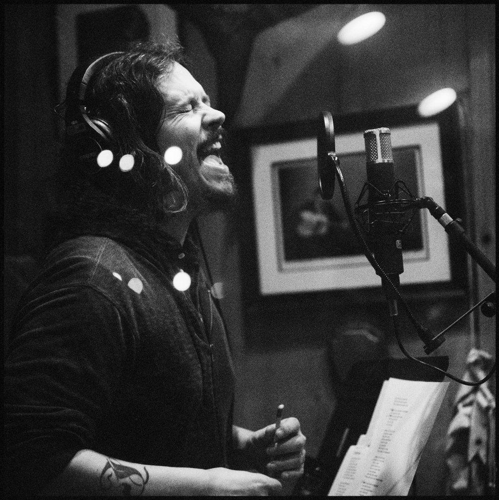 JOHN PAUL WHITE RECORDING AT CASH CABIN
