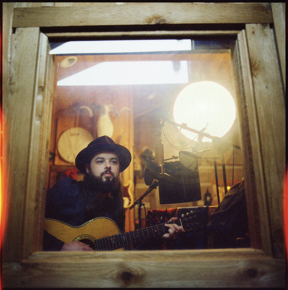 CALEB CAUDLE RECORDING AT CASH CABIN