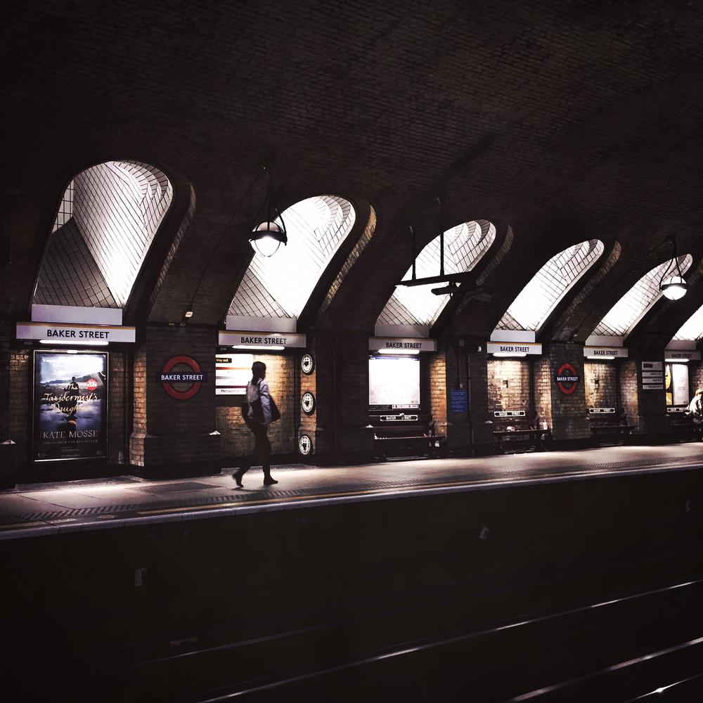Baker Street station, London, 2015.