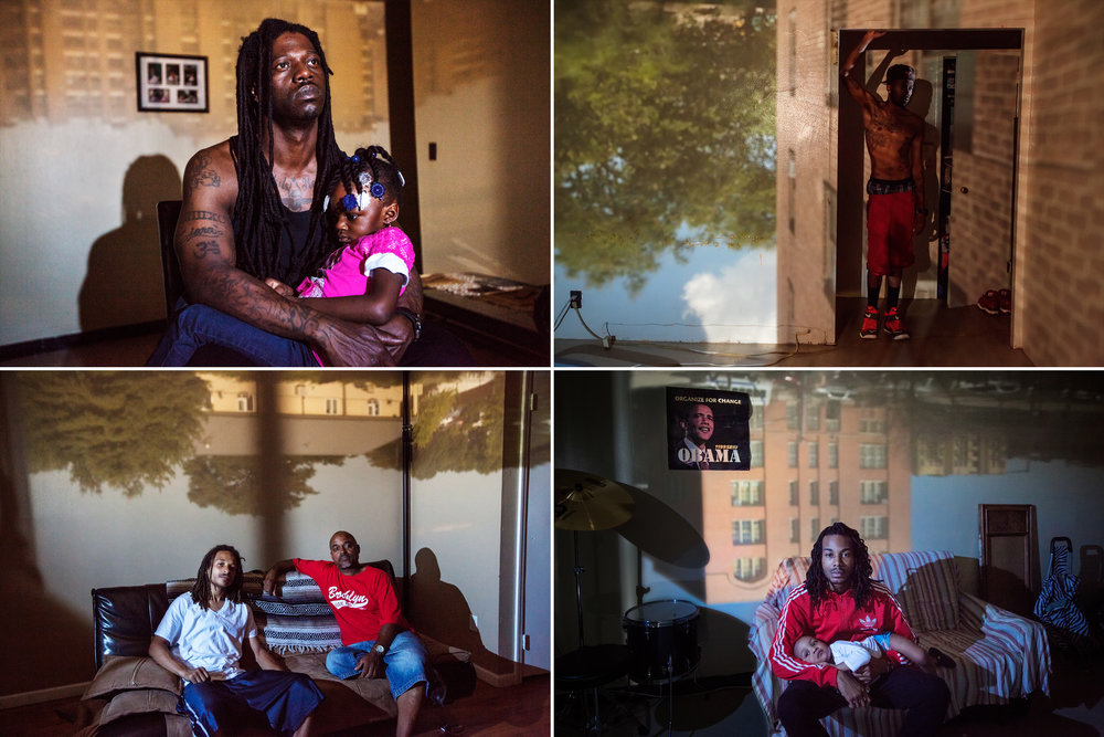 "Narratively: "" The Camera That's Flipping Stereotypes of Fatherhood Upside Down. "" Photos:  Phyllis B. Dooney . Audio Interviews: Emily Rhyne.   Role: Final sequence, final audio."