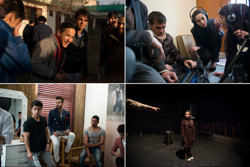 """Narratively:  """"  T  he Millennials of Afghanistan Have Never Known a World Without War. So Why Are These Kids So Hopeful?"""" Photos: Kiana Hayeri;Text: Sophie Brill.  Role: Final sequence, captions, research coordinator."""