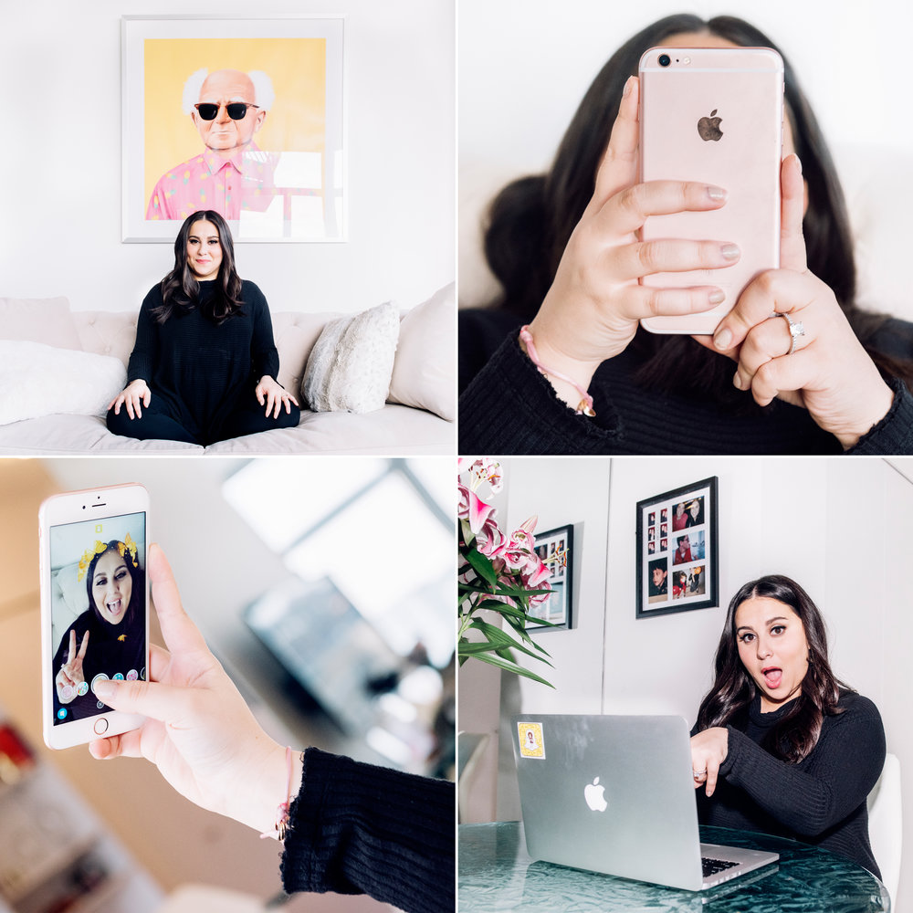 Narratively:  This Millennial Makes More Money Posting Selfies From Bed Than You Do at Your 9-to-5 . Photos:  Vincent Tullo .  Role: Produced shoot, final select, sequence.