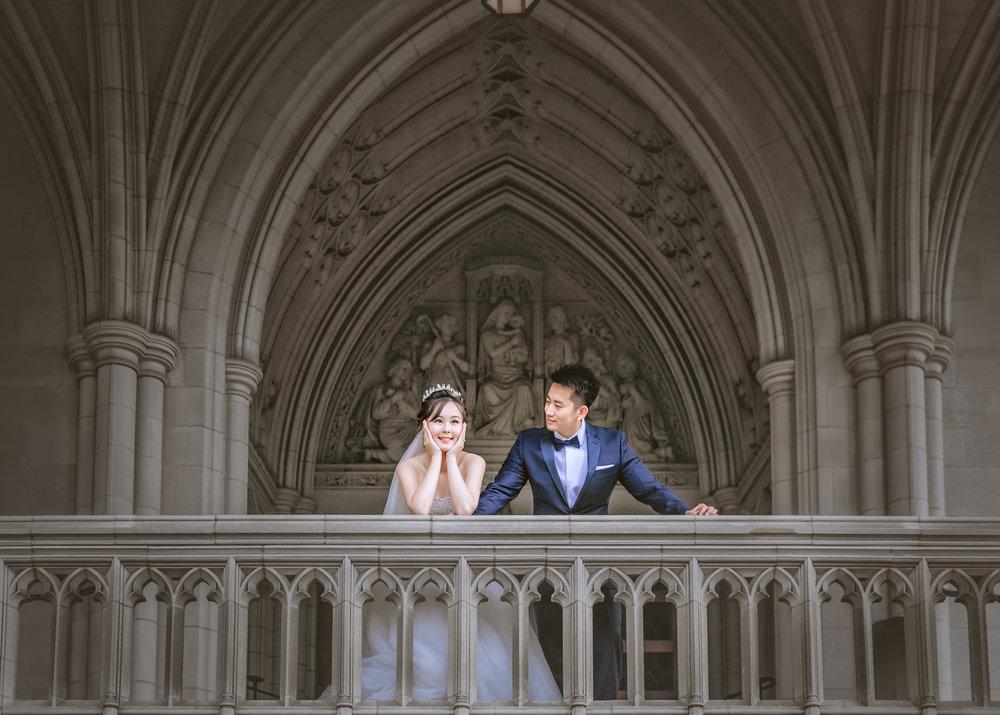 国家大教堂 (National Cathedral) 华盛顿婚纱;华盛顿DC婚纱;大华府婚纱;DC婚纱