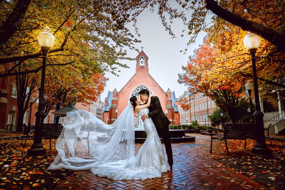 乔治城大学 (Georgetown University) 华盛顿婚纱;华盛顿DC婚纱;大华府婚纱;DC婚纱