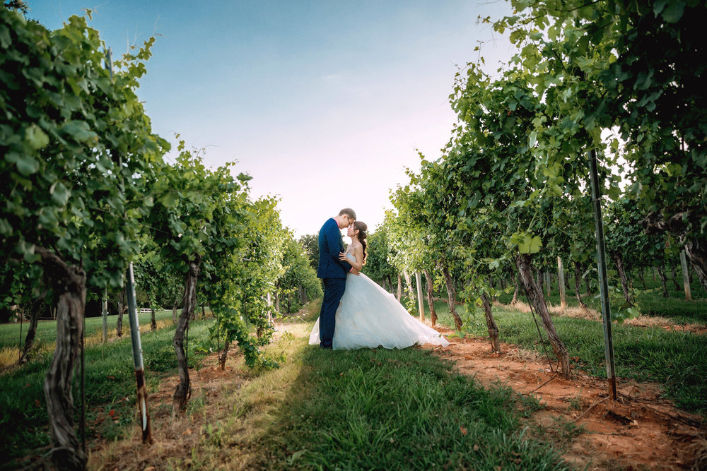 Peggy + Steven     Keswick Vineyards