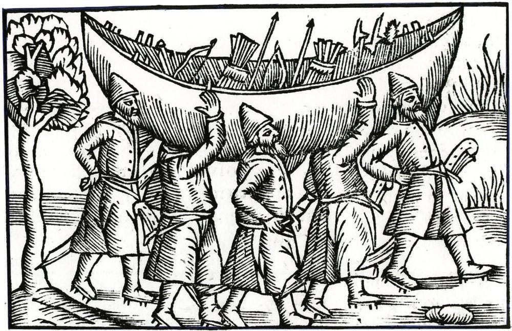 by Olaus Magnus (Scanné de Coureurs des mers, Poivre d'Arvor.) [Public domain], via Wikimedia Commons