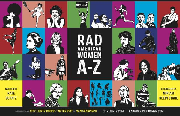 Rad American Women A-Z, published by City Lights Books/Sister Spit