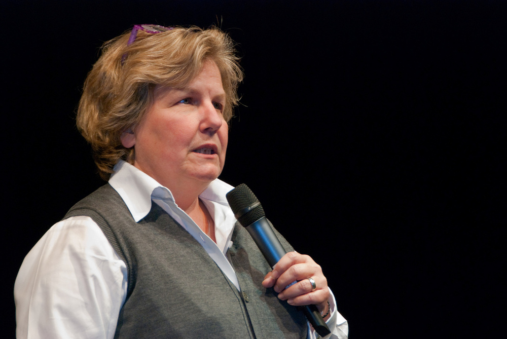 by stan_was (Sandi Toksvig) [CC BY 2.0], via Wikimedia Commons