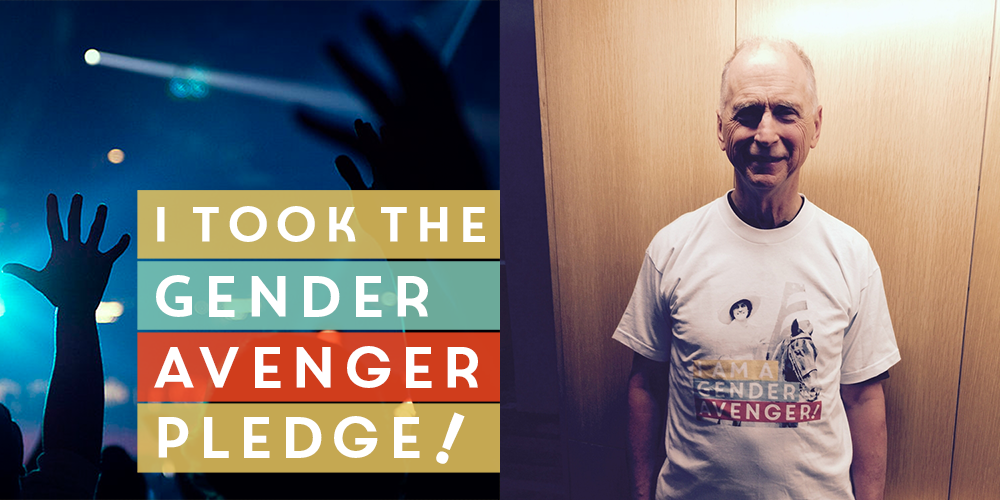 Garrett Boone and the GenderAvenger Pledge
