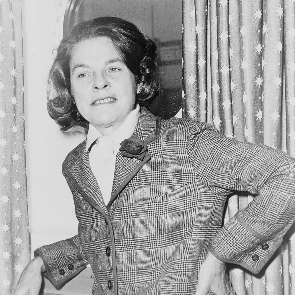 Mary McCarthy, author of 1963's The Group