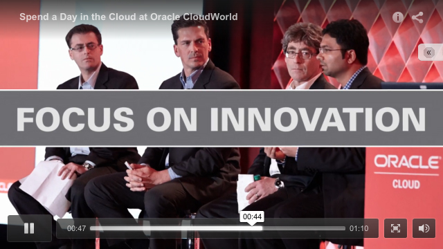 Click above to watch the Oracle Cloud promo video.