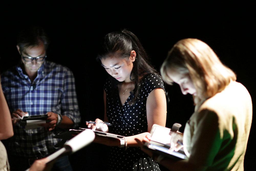 Tracy Chou (center) by TechCrunch [CC BY 2.0], via Flickr