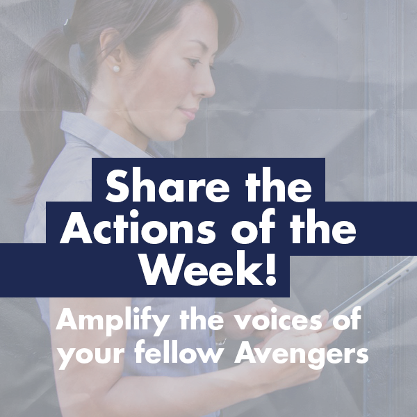 Share Actions of the Week!