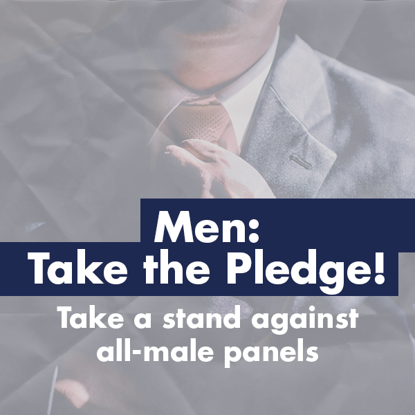 Men: Take the Pledge!