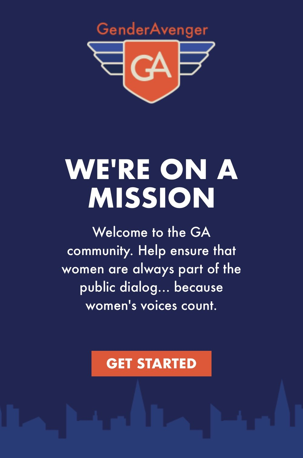GenderAvenger GA Tally app