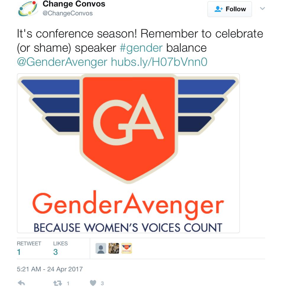 GenderAvenger GA Tally Change Convos