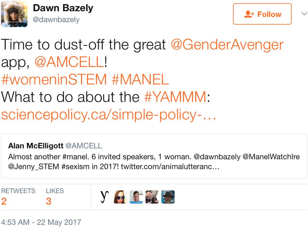 Dawn Bazely tweet