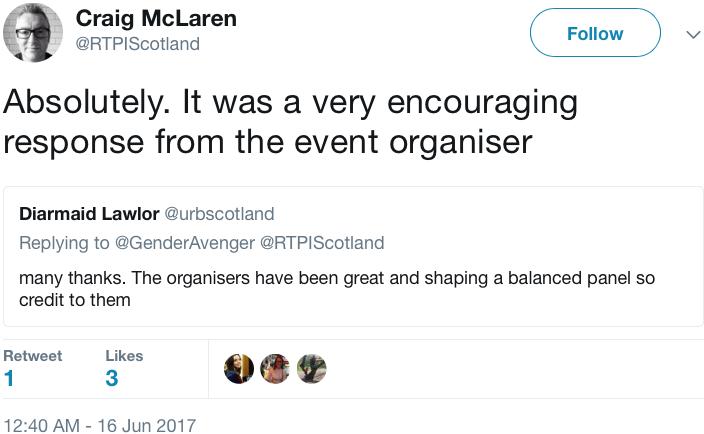 GenderAvenger Craig McLaren