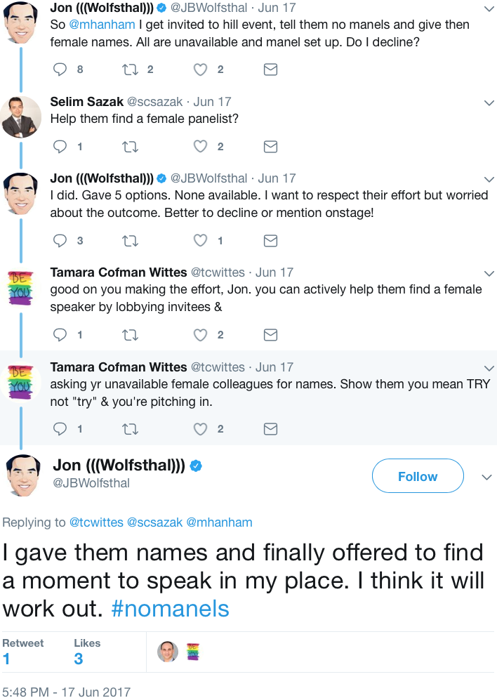GenderAvenger Jon Wolfsthal