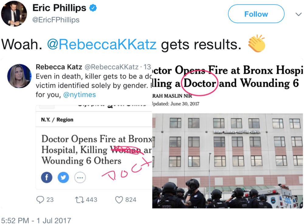 GenderAvenger Eric Phillips Rebecca Katz