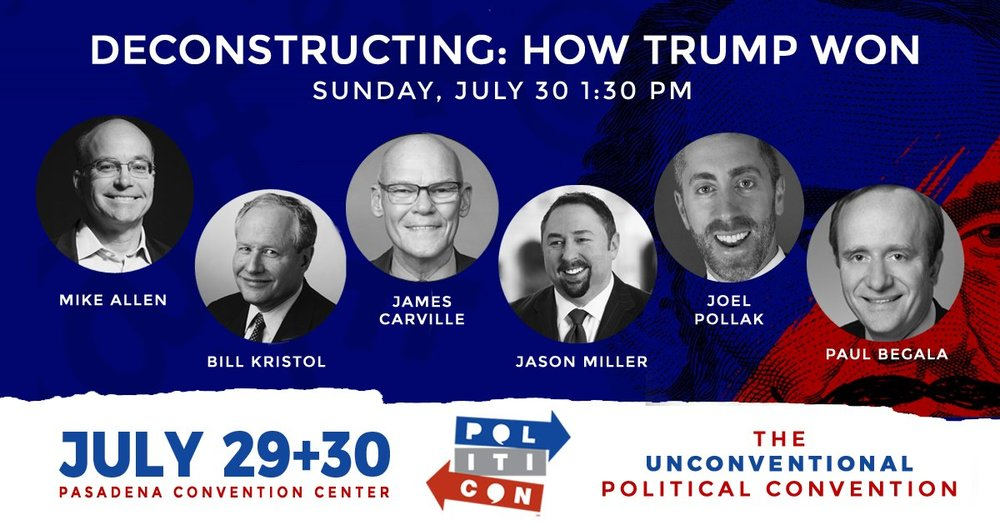 Politicon Deconstructing How Trump Won