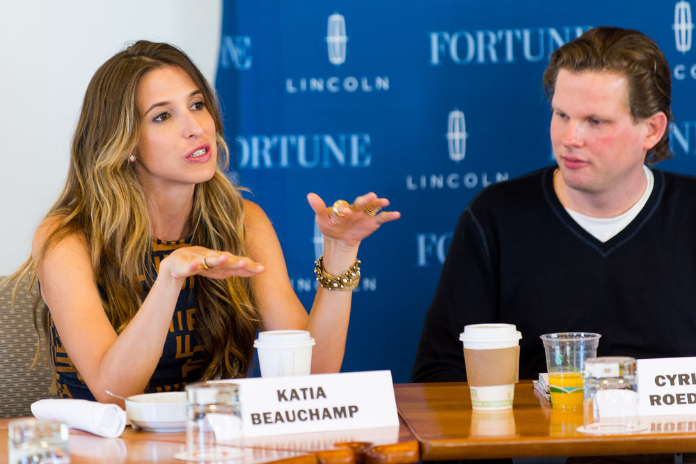 Birchbox CEO Katia Beauchamp. Photo credit: Fortune Live Media [ CC BY-NC-ND 2.0 ],  via Flickr