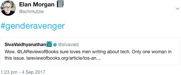 GenderAvenger schmutzie Elan Morgan