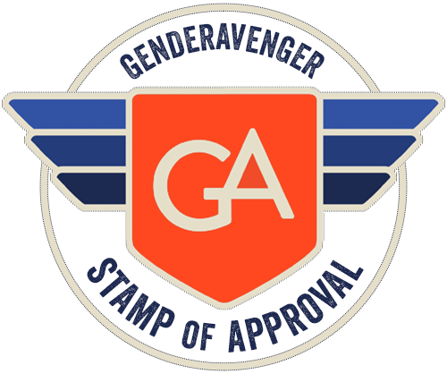 GenderAvenger Stamp of Approval