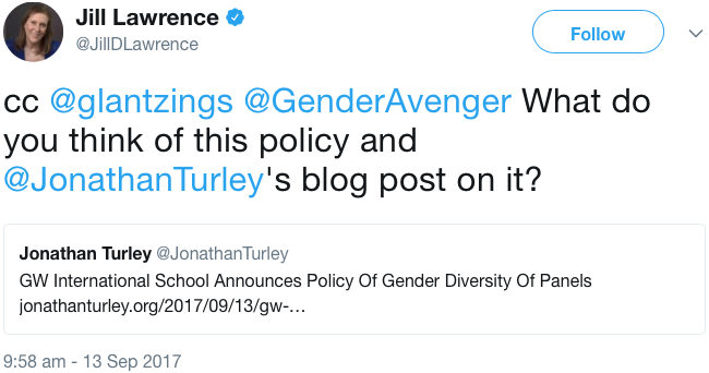 GenderAvenger Jill Lawrence