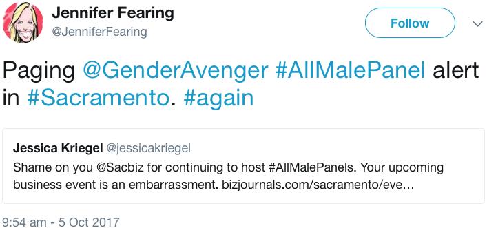 GenderAvenger Jennifer Fearing