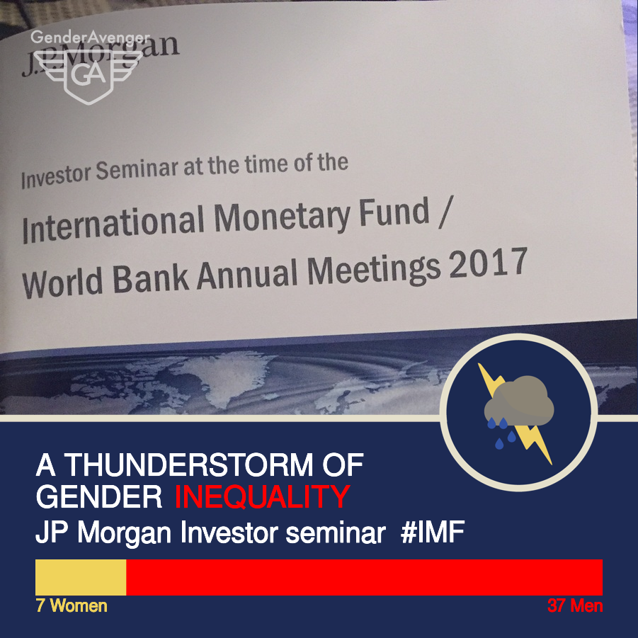 GenderAvenger GA Tally JP Morgan Investor Seminar