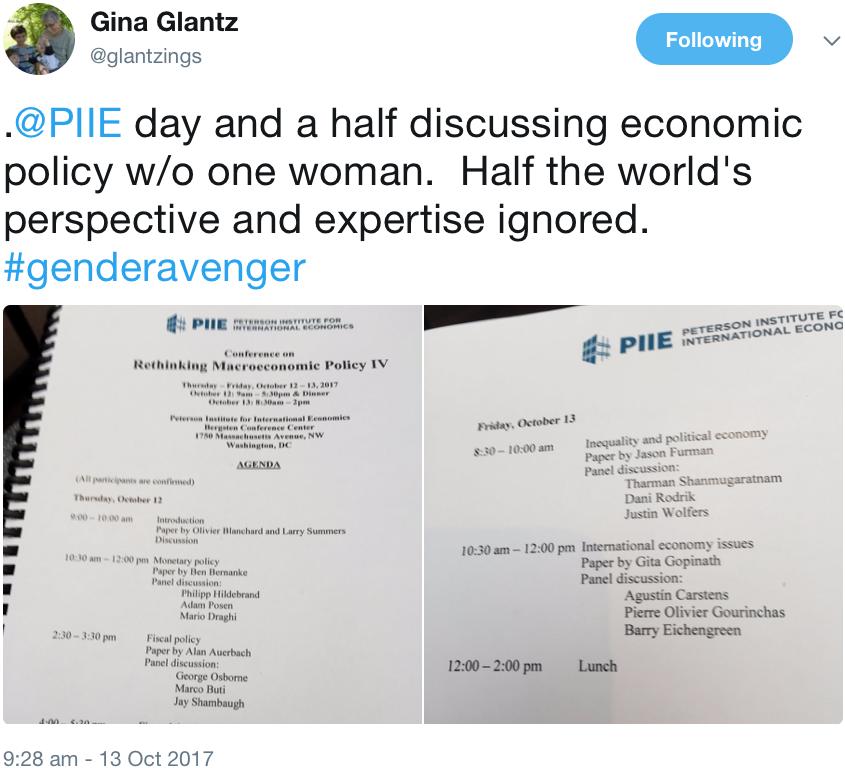 GenderAvenger Gina Glantz