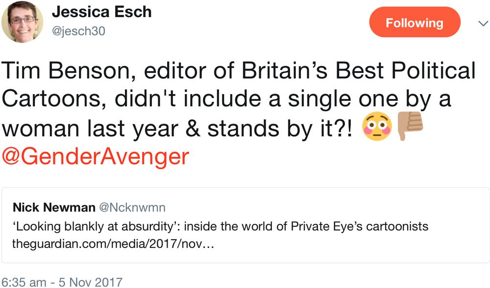 GenderAvenger Jessica Esch