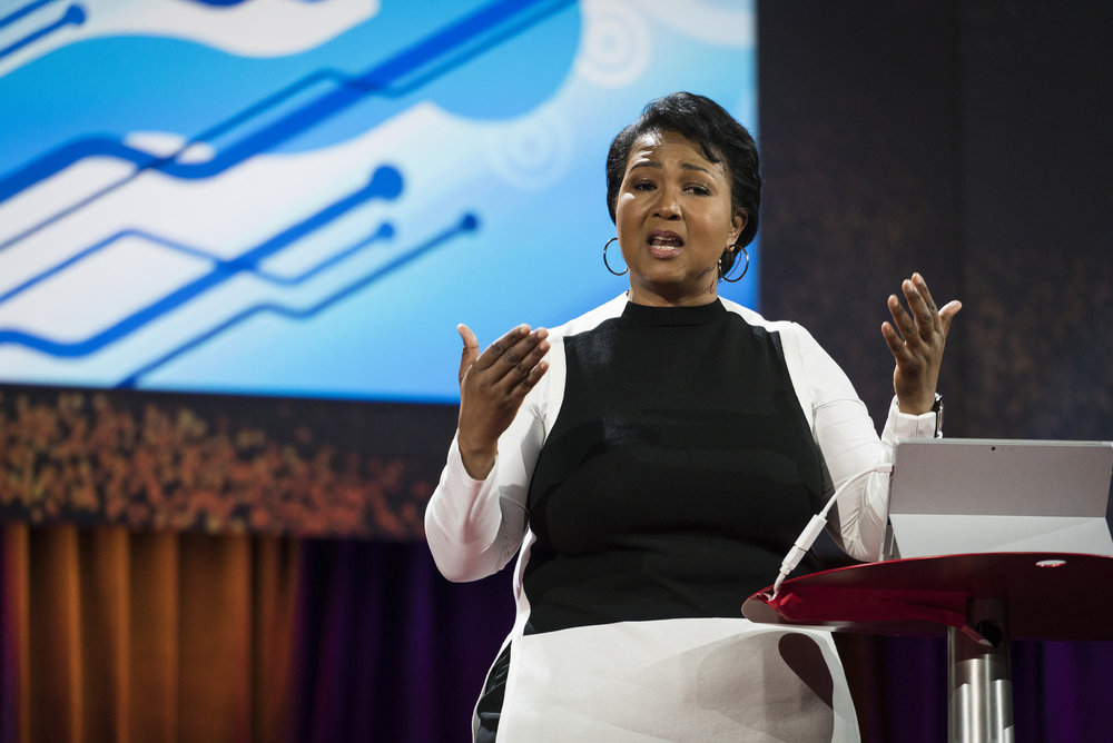 Mae Jemison. photo credit: TED Conference [ CC BY-NC 2.0 ],  via Flickr